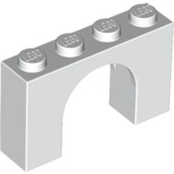 White Brick, Arch 1 x 4 x 2 - new