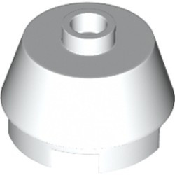 White Cone 2 x 2 Truncated - new