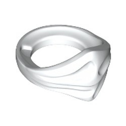 White Minifigure, Bandana Ninja - used