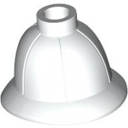 White Minifigure, Headgear Pith Helmet