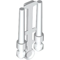 White Minifigure, Utensil Wand, 2 on Sprue