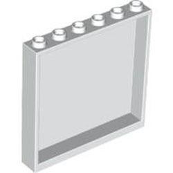 White Panel 1 x 6 x 5