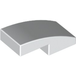White Slope, Curved 2 x 1