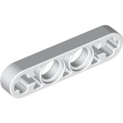 White Technic, Liftarm 1 x 4 Thin - new