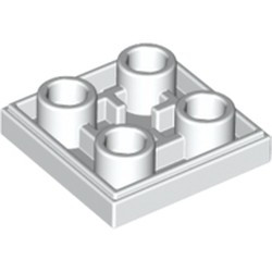 White Tile, Modified 2 x 2 Inverted