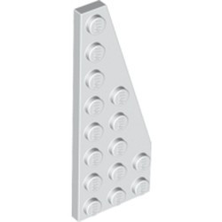 White Wedge, Plate 8 x 3 Right - used