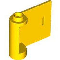 Yellow Door 1 x 3 x 2 Right - Open Between Top and Bottom Hinge - used