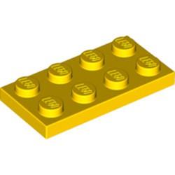 Yellow Plate 2 x 4