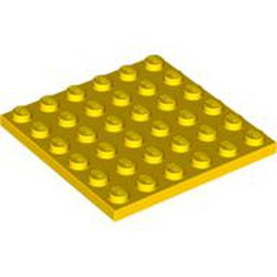 Yellow Plate 6 x 6