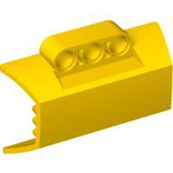 Yellow Technic, Panel Engine Block Half / Side Intake - used