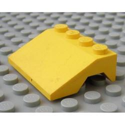 Yellow Vehicle, Mudguard 3 x 4 Slope