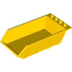 Yellow Vehicle, Tipper Bed 4 x 6