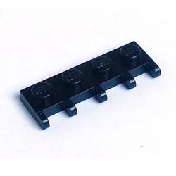 Black Hinge Vehicle Roof Holder 1 x 4