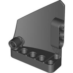 Black Technic, Panel Fairing #14 Large Short Smooth, Side B