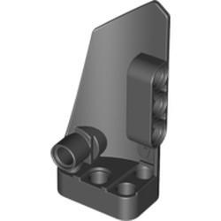 Black Technic, Panel Fairing # 4 Small Smooth Long, Side B