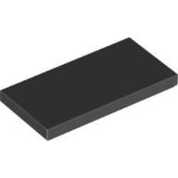 Black Tile 2 x 4 - new