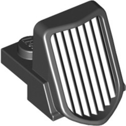 Black Vehicle, Grille 1 x 2 x 2 2/3 Sloping