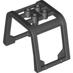 Black Windscreen 6 x 4 x 3 1/3 Roll Cage - new