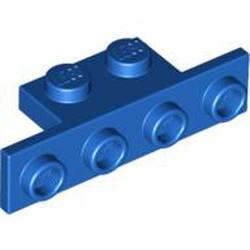 Blue Bracket 1 x 2 - 1 x 4