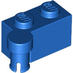 Blue Hinge Brick 1 x 4 Swivel Top