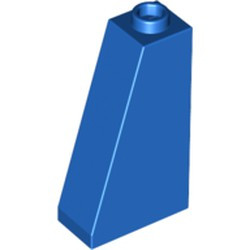 Blue Slope 75 2 x 1 x 3 - Open Stud - used