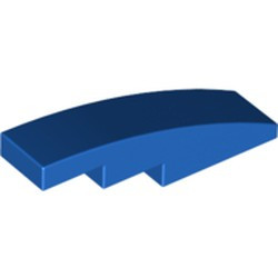 Blue Slope, Curved 4 x 1