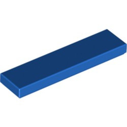 Blue Tile 1 x 4 - new