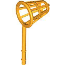 Bright Light Orange Minifigure, Utensil Net (Fabuland Wind Gauge) - used