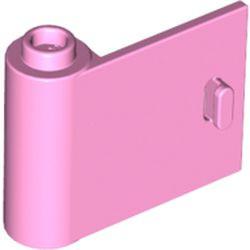 Bright Pink Door 1 x 3 x 2 Left - Open Between Top and Bottom Hinge