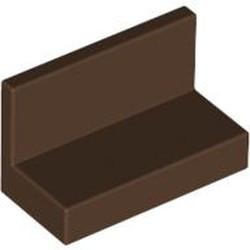 Brown Panel 1 x 2 x 1 - used