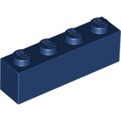 Dark Blue Brick 1 x 4