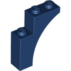 Dark Blue Brick, Arch 1 x 3 x 3 - new