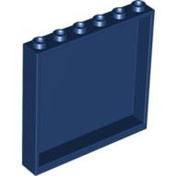 Dark Blue Panel 1 x 6 x 5 - used