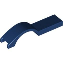 Dark Blue Vehicle, Mudguard 1 x 4 1/2 - used