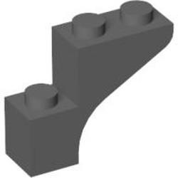 Dark Bluish Gray Brick, Arch 1 x 3 x 2 - new