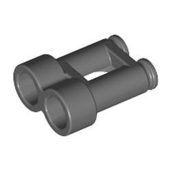 Dark Bluish Gray Minifigure, Utensil Binoculars Town - used
