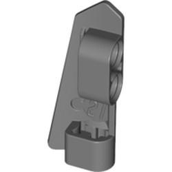 Dark Bluish Gray Technic, Panel Fairing #21 Very Small Smooth, Side B