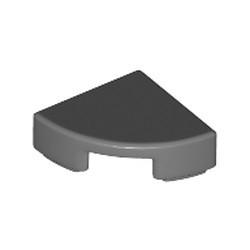 Dark Bluish Gray Tile, Round 1 x 1 Quarter - new