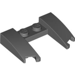 Dark Bluish Gray Wedge 3 x 4 x 2/3 Curved with Cutout