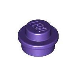 Dark Purple Plate, Round 1 x 1 - new