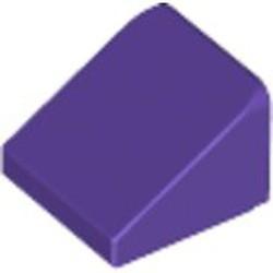 Dark Purple Slope 30 1 x 1 x 2/3 - used