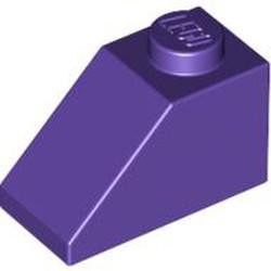 Dark Purple Slope 45 2 x 1 - new