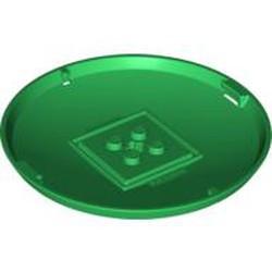Green Container, X-Pod Bottom Cap 9 x 9 x 1