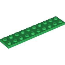 Green Plate 2 x 10