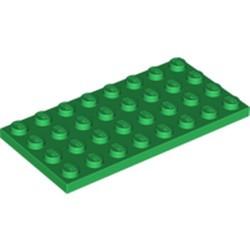 Green Plate 4 x 8