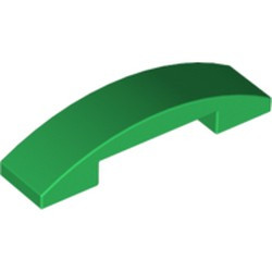 Green Slope, Curved 4 x 1 Double - new