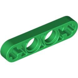 Green Technic, Liftarm Thin 1 x 4 - Axle Holes