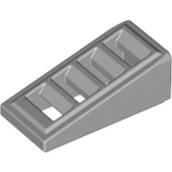 Light Bluish Gray Slope 18 2 x 1 x 2/3 with 4 Slots