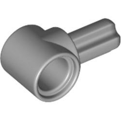 Light Bluish Gray Technic, Axle and Pin Connector Hub with 1 Axle