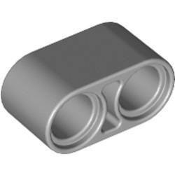 Light Bluish Gray Technic, Liftarm 1 x 2 Thick - new